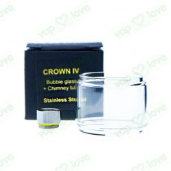 Conector para Crown IV con Bubble Glass + Chimney Tube