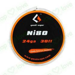 10m GeekVape Ni80 24GA (0.50mm)